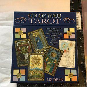 Color Your Tarot by Liz Dean  Body, Mind, Spirit
